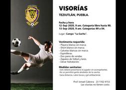 VISORÍAS LEONES DORADOS FC EN PUEBLA