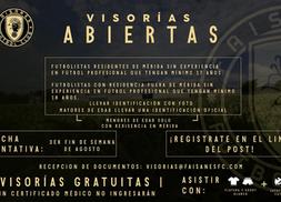 VISORÍAS FAISANES FC EN MÉRIDA