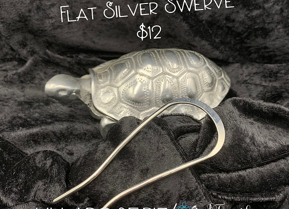 Flat Silver Swerve