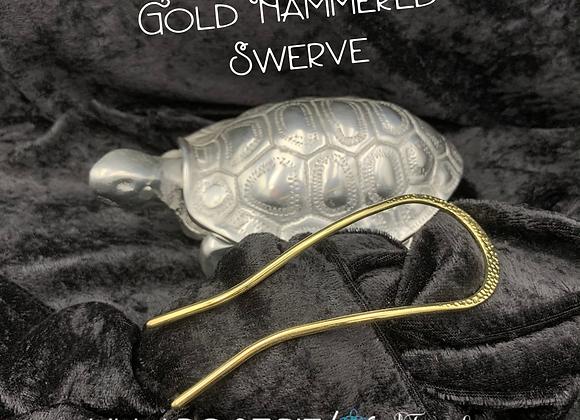 Gold Hammered Swerve