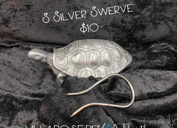 Small Silver Swerve