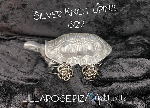 Silver Knot Upins