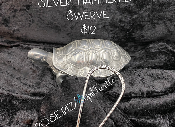 Hammered Silver Swerve