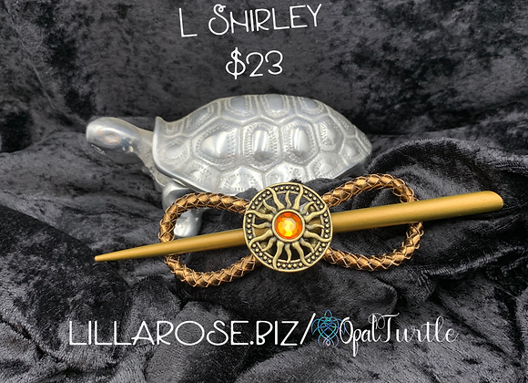 Shirley L w/stick