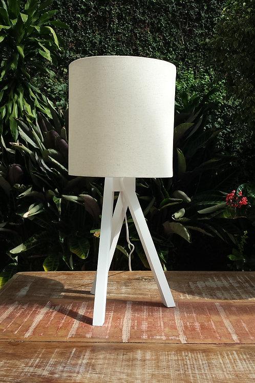 Luminária Tripé Laca - Cúpula Customizável