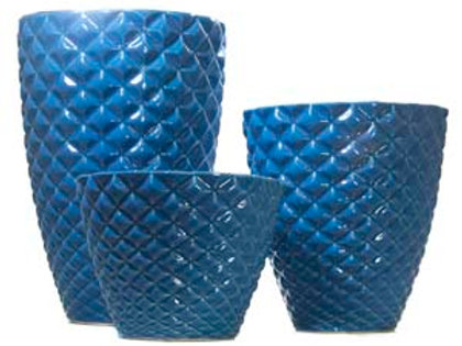 Vaso Diamante Azul