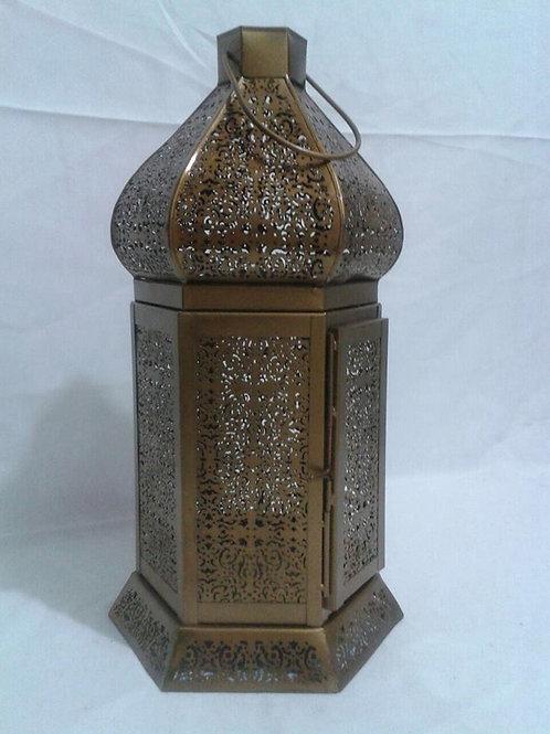 Lanterna Marroquina Dourada