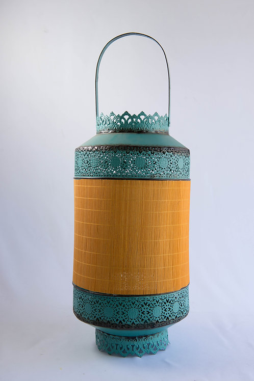 Lanterna Étnica Turquesa II