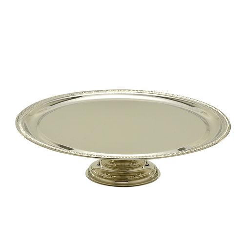 Prato Silver com Pé