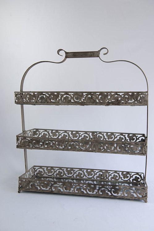 Doceira Ferro com espelho 3 andares