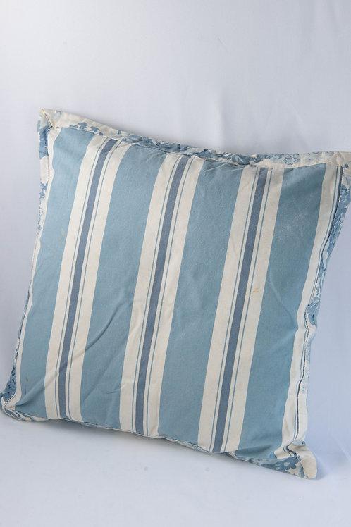 Almofada Listras Azul Oceano