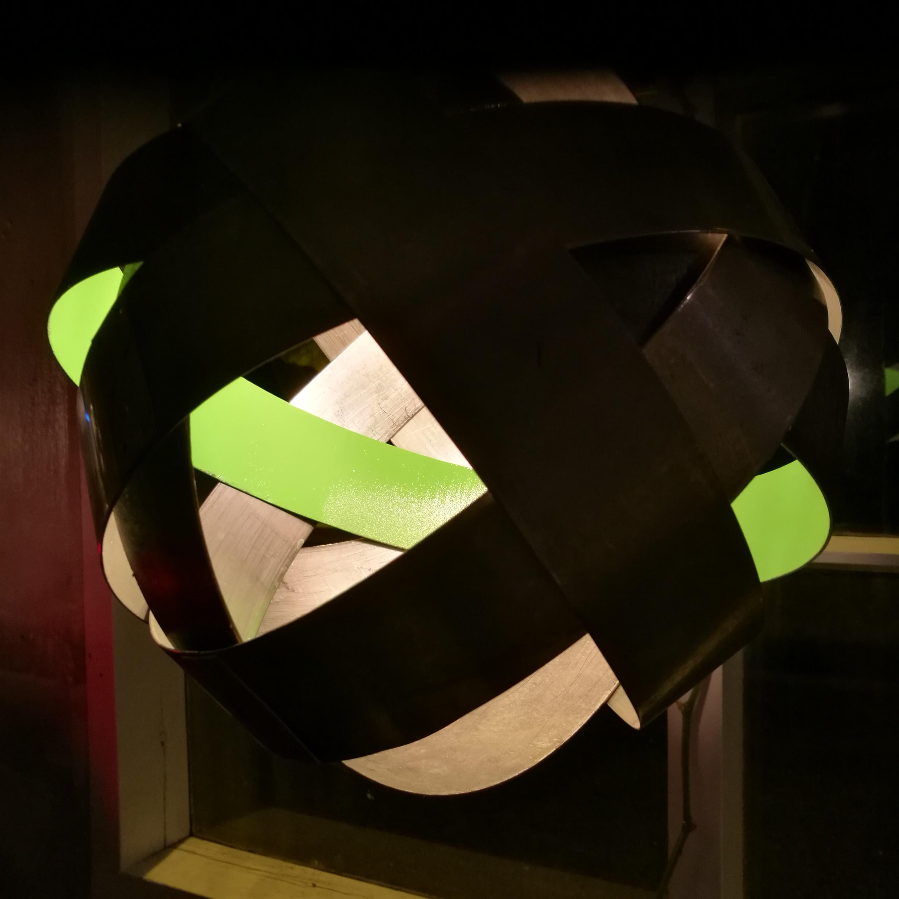 Iron Ballon grønn stripe