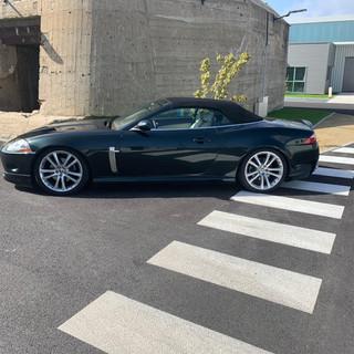 Lustrage Jaguar avec Produits Diamand's car