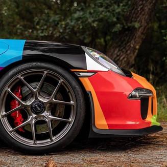 Total covering Porsche 911
