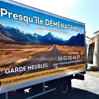 Marquage publicitaire à Guérande