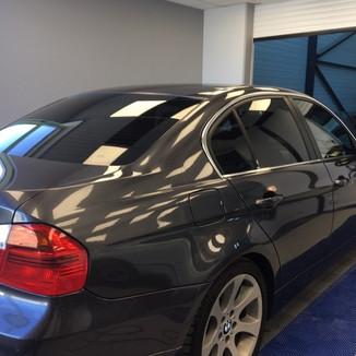 BMW vitres teintées