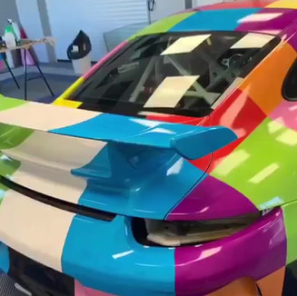 Réalisation Car wrapping