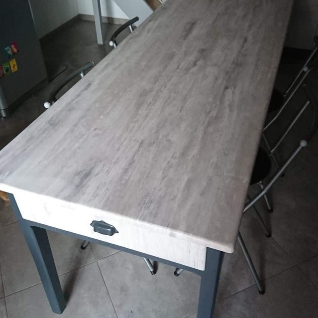 Table en covering