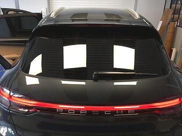 Vitres teintées Porsche Guérande