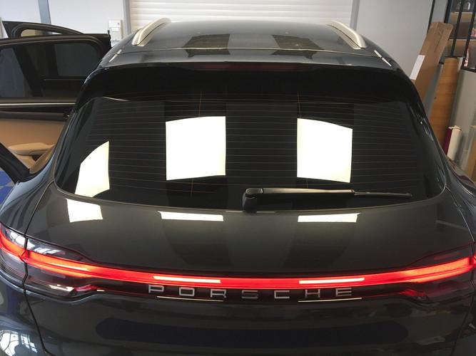 Film teinté guérande Porsche