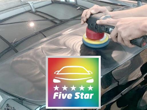 """HCA Concept rejoint le réseau """"Five Star""""... et votre carrosserie vous dit merci !"""