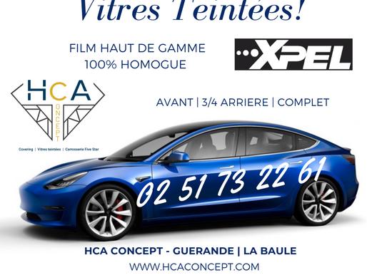 Guérande : Pose de Film Teinté pour les vitres de votre véhicule
