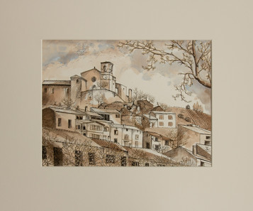 St. Jurs in Sepia - Provence