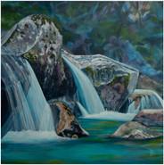 Waterfalls in the Tatra Mountains - Czechia