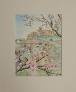 St. Jurs through the Blossoms - Provence