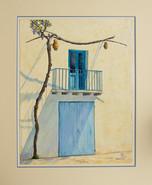 Sunny Blue Balcony - Spain