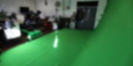 Huge green screen