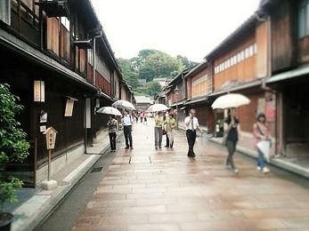 historical houses in Kanazawa