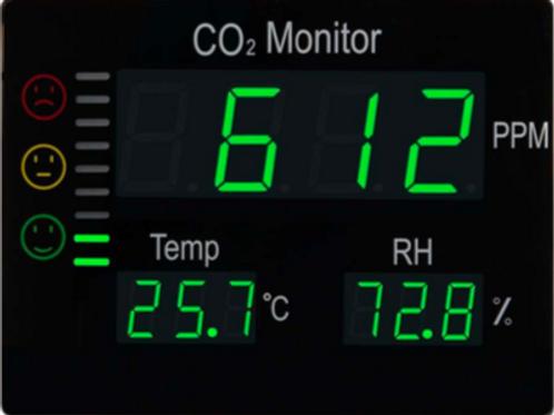 APPAREIL DE MESURE CO2 DC100