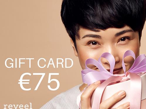 Gift card € 75