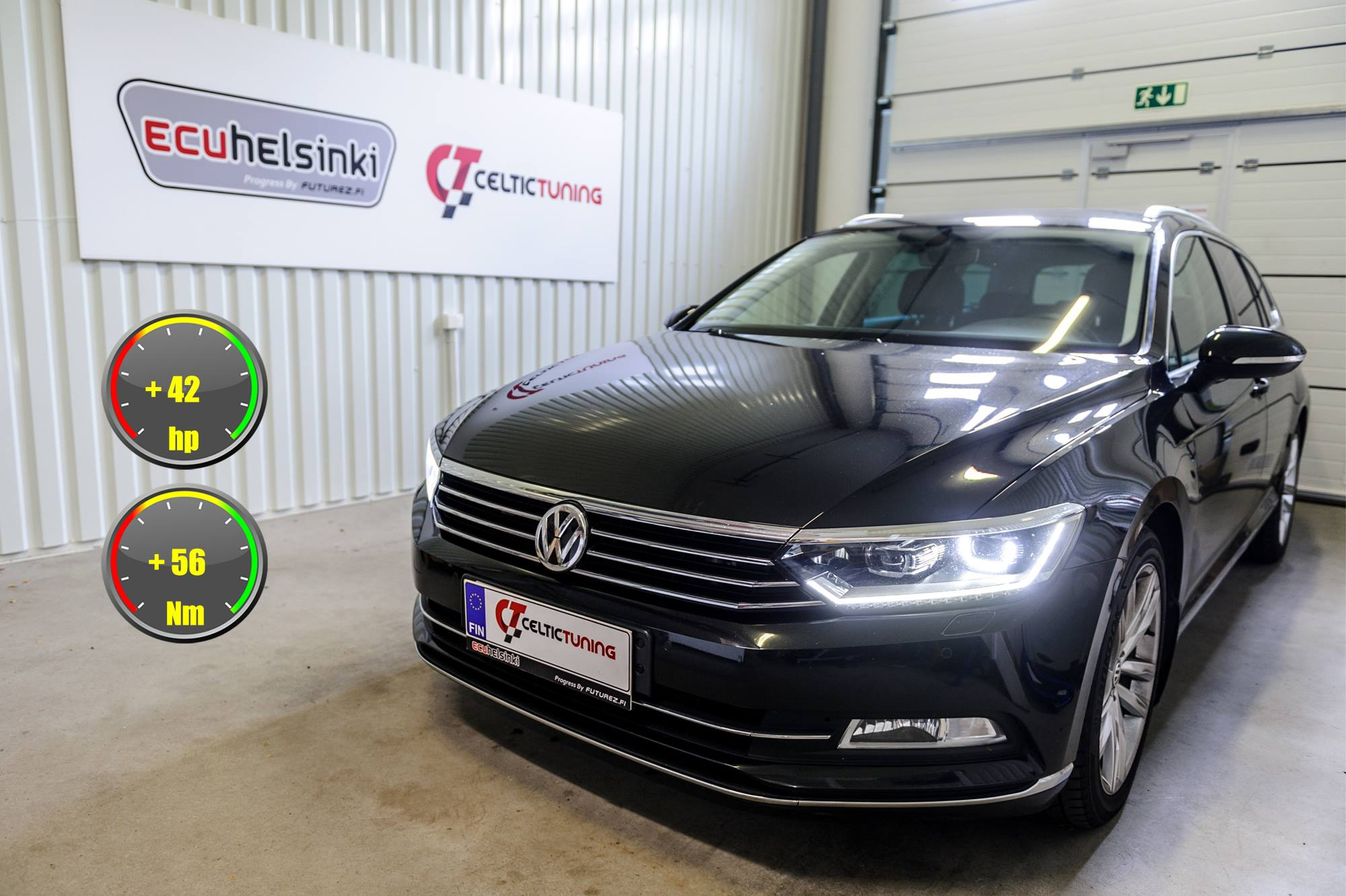 VW Passat Celtic Tuning Lastutus