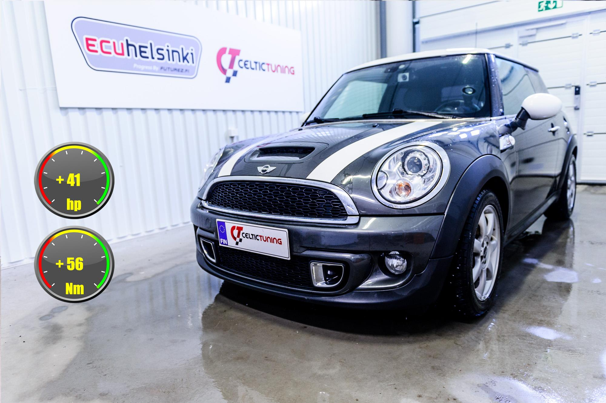 Mini Cooper S optimointi Celtic tuni