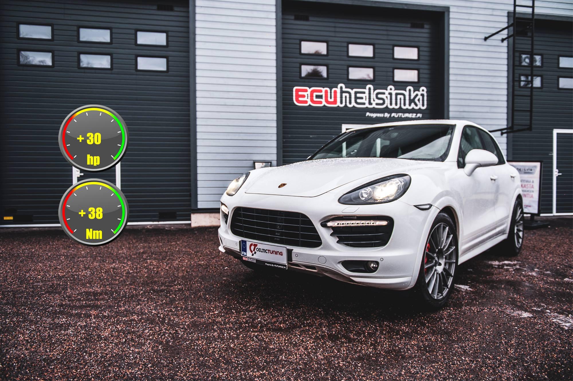 Porsche Cayenne celtic tuning lastut