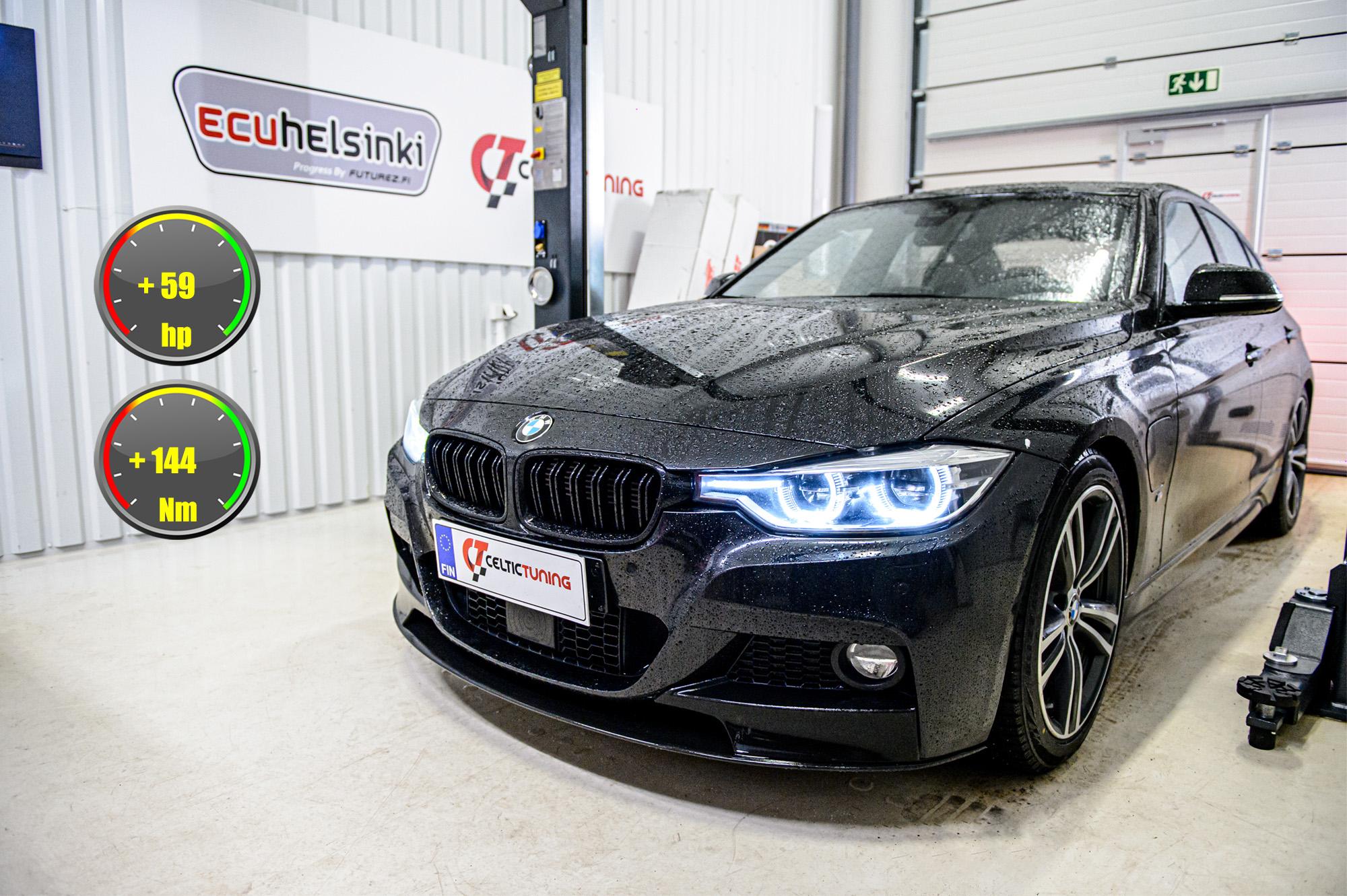 BMW 330e hybrid ohjelmointi celtic tuning
