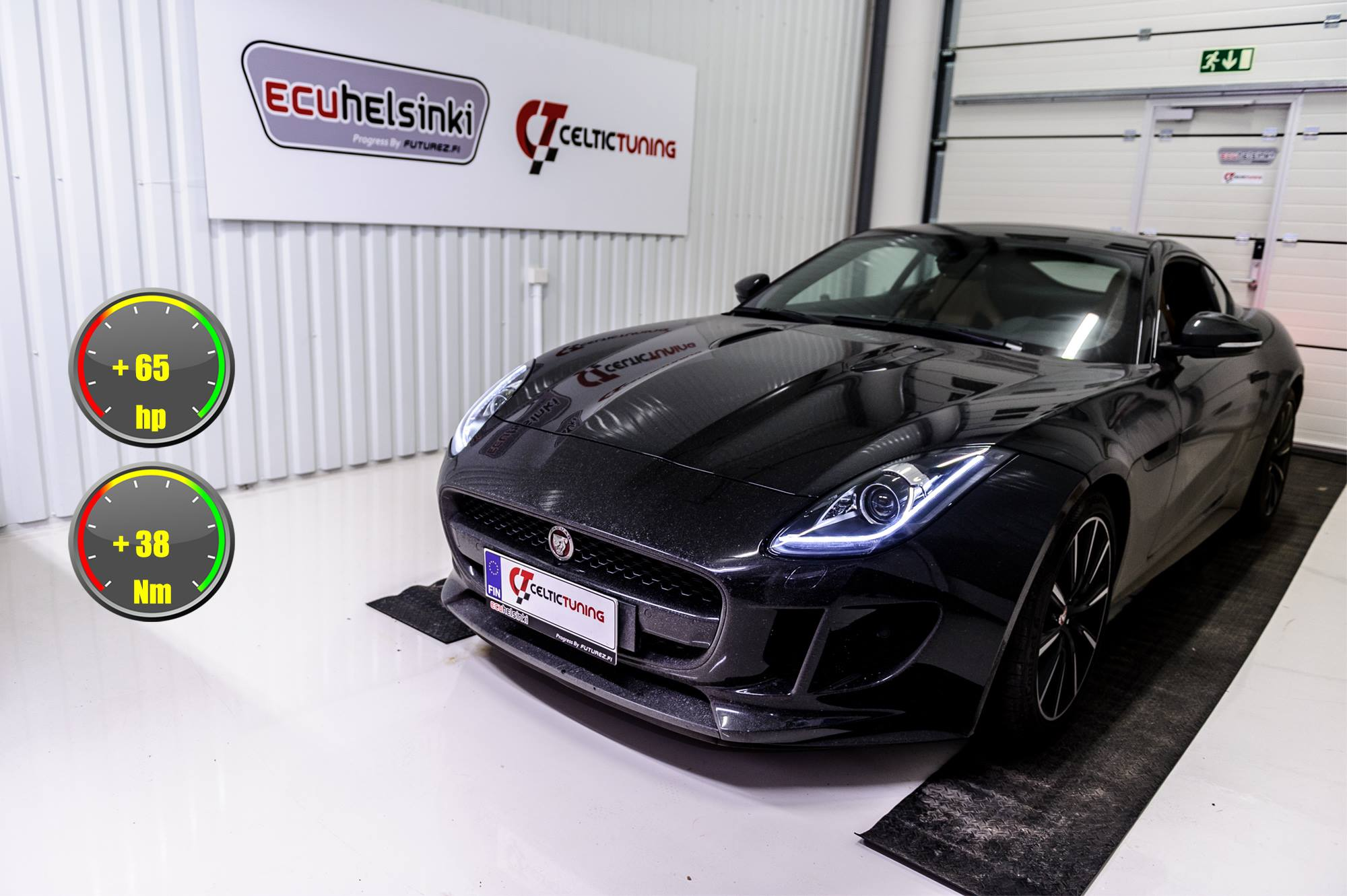 Jaguar F-type lastutus celtic tuning