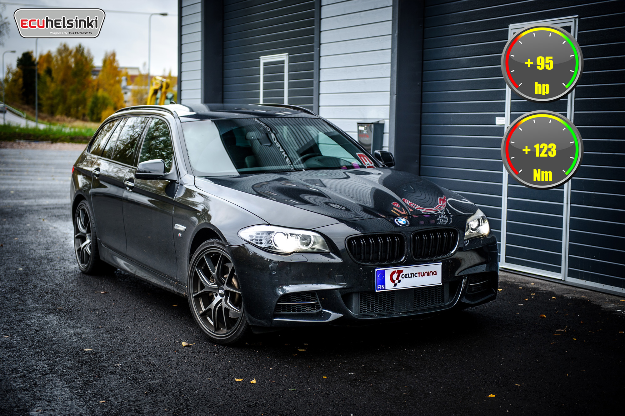 Bmw 535D optimointi celtic tuning