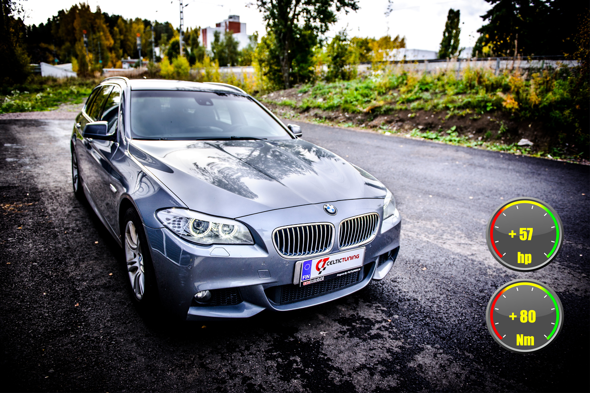 BMW 530D optimointi celtic tuning