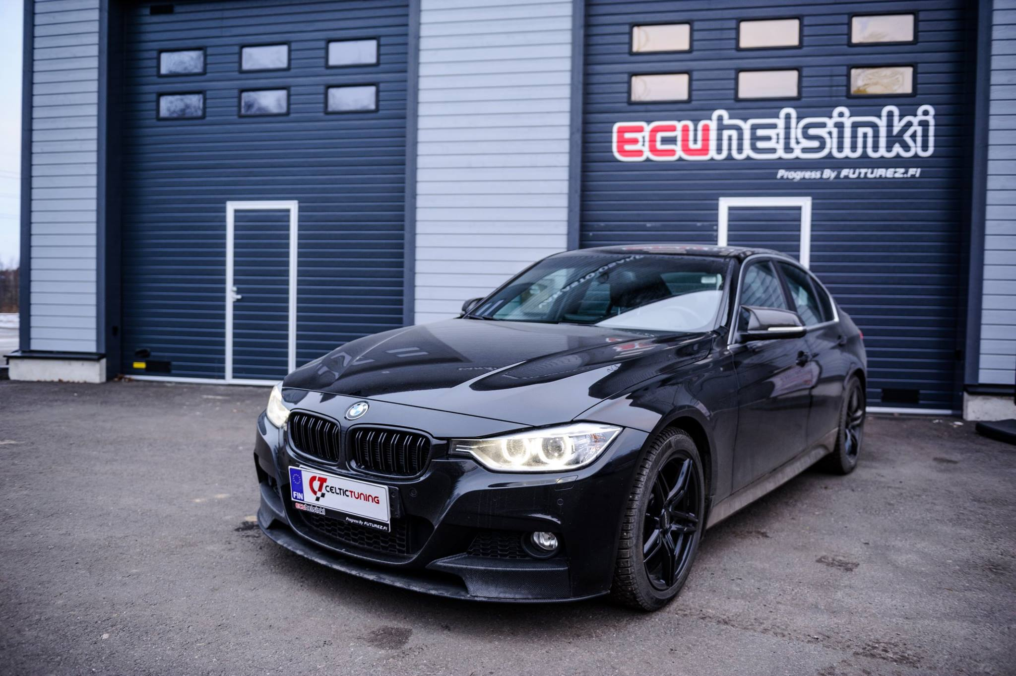 BMW 330d lastutus celtic tuning
