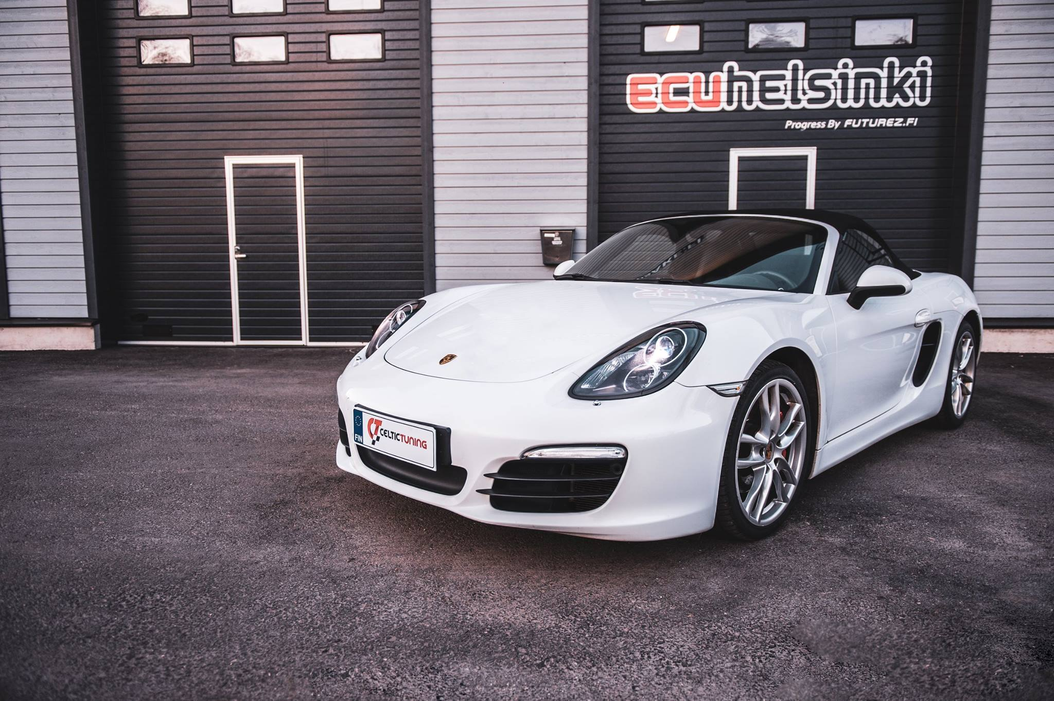 Porsche Boxter S celtic tuning lastu