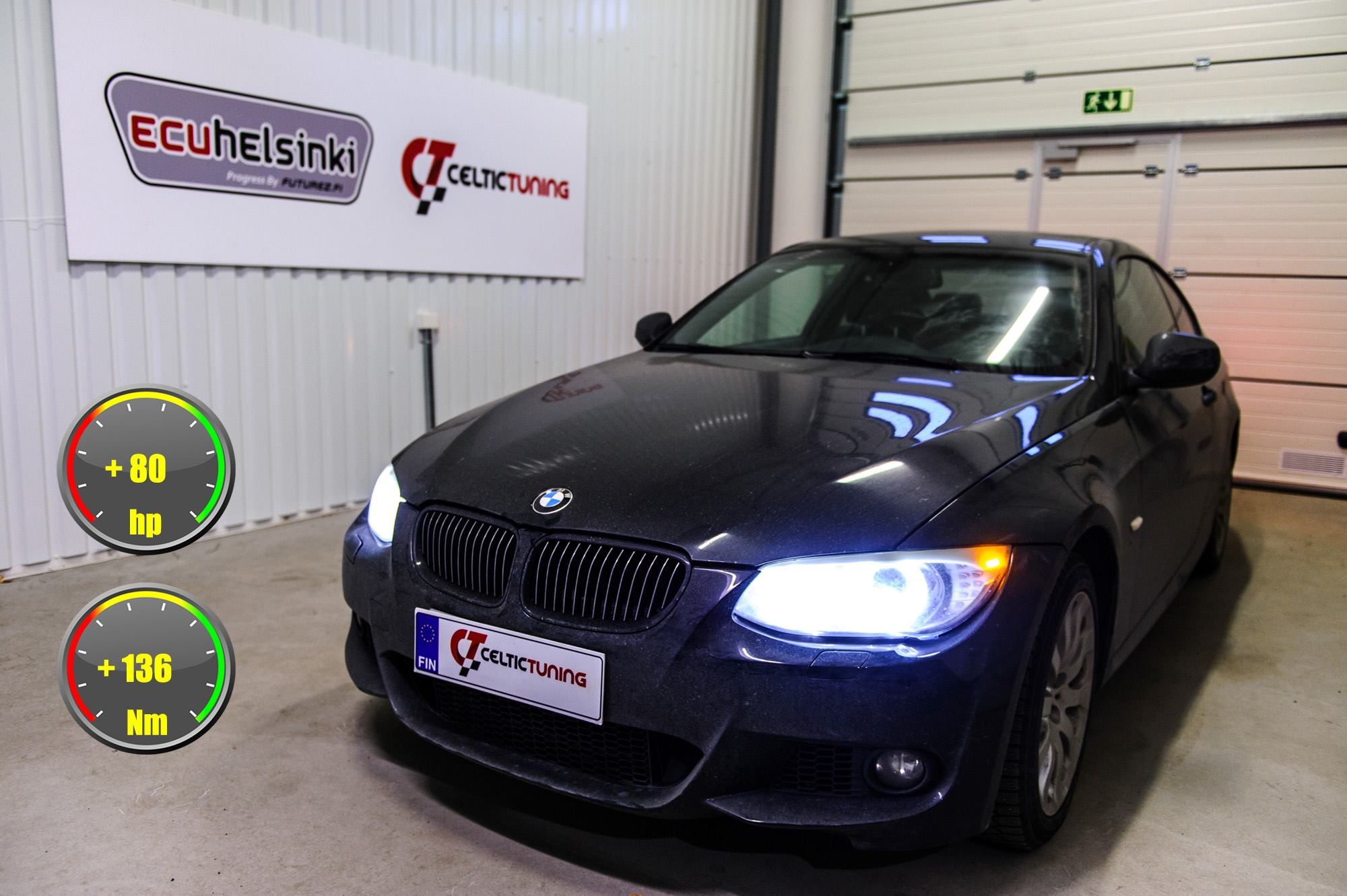 BMW 335i N55 optimointi celtic