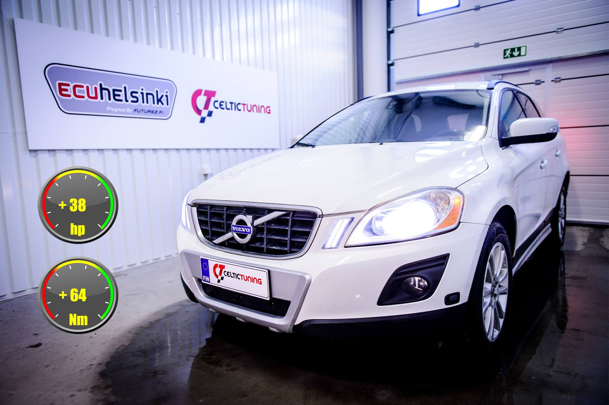 Volvo XC60 2.4 D5 optimointi celtic