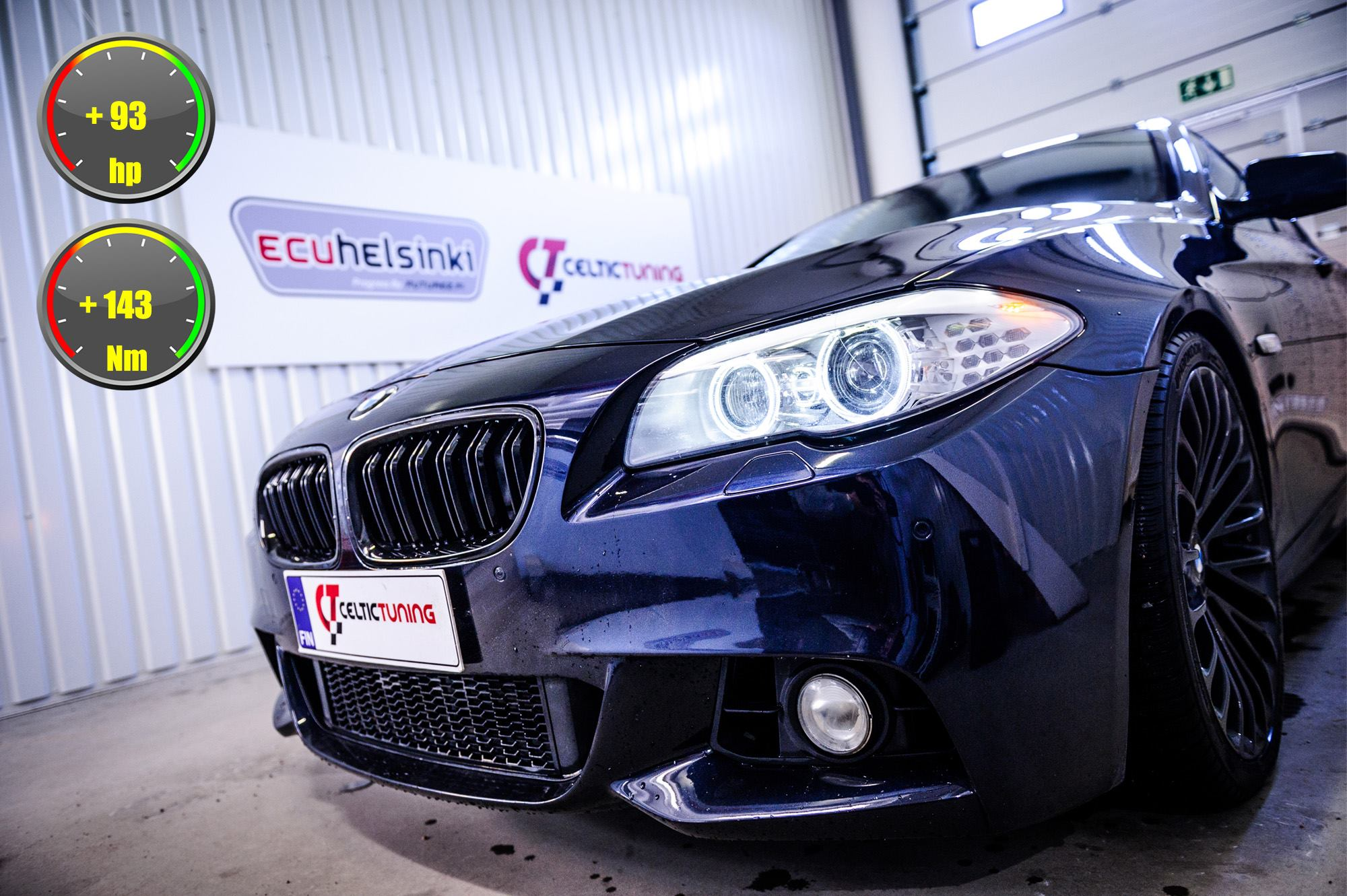 BMW 535D lastutus celtic tuning