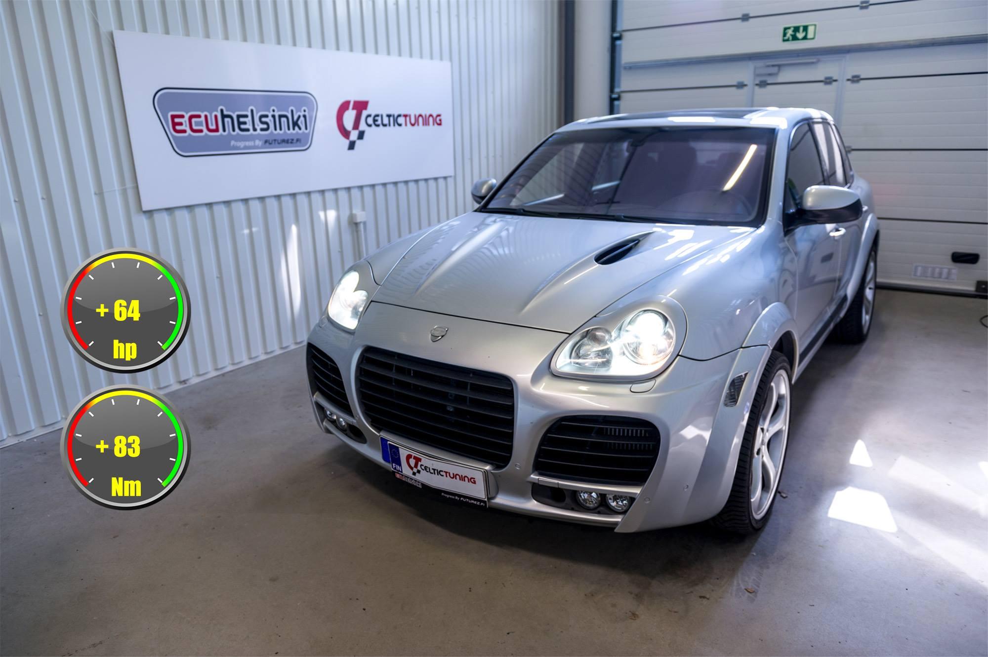Porsche Cayenne Turbo Lastutus celti