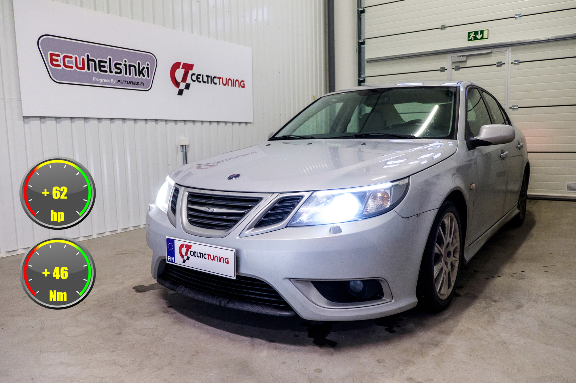 Saab 93 optimointi celtic tuning