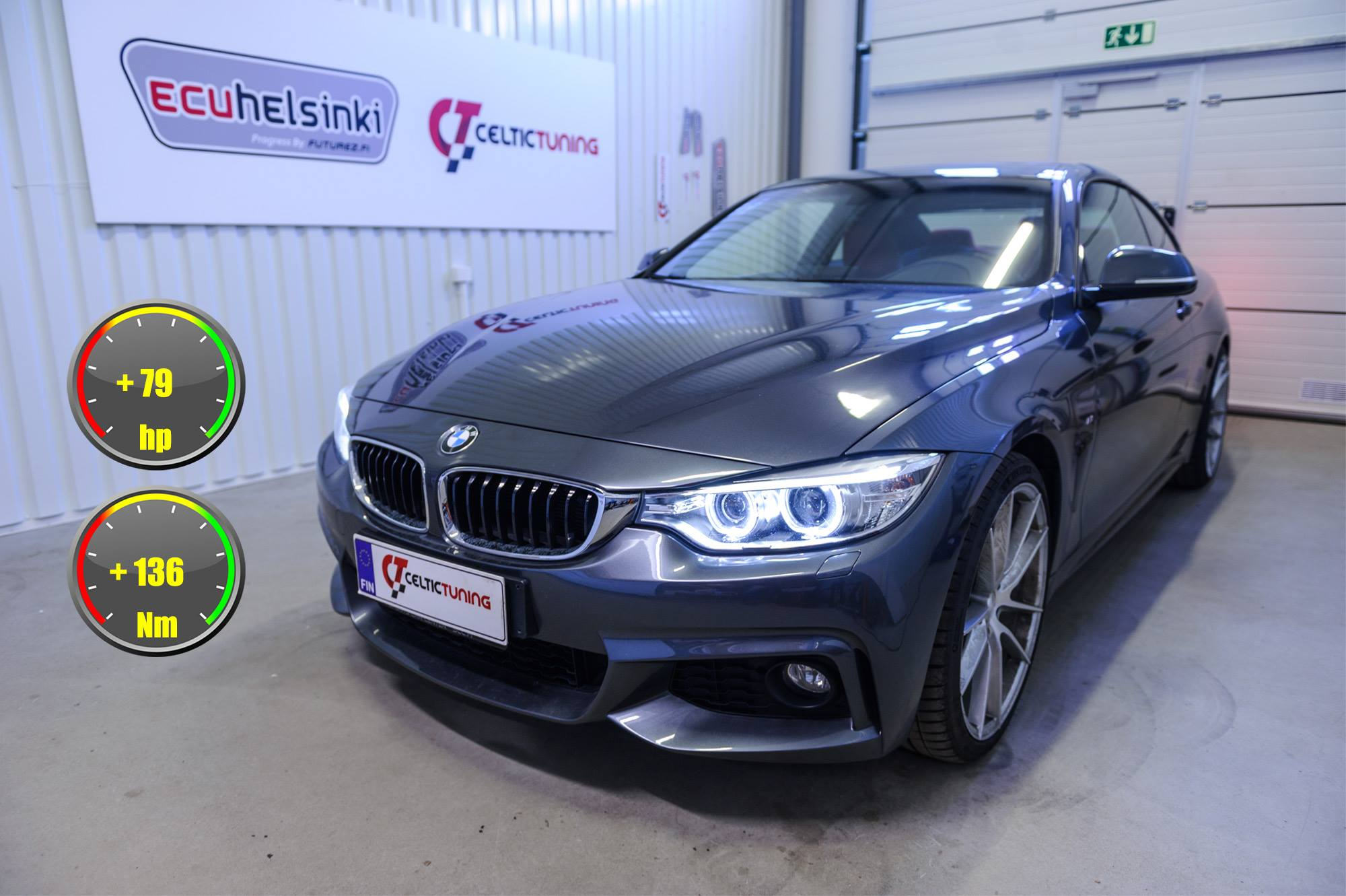 BMW 435i lastutus celtic tuning