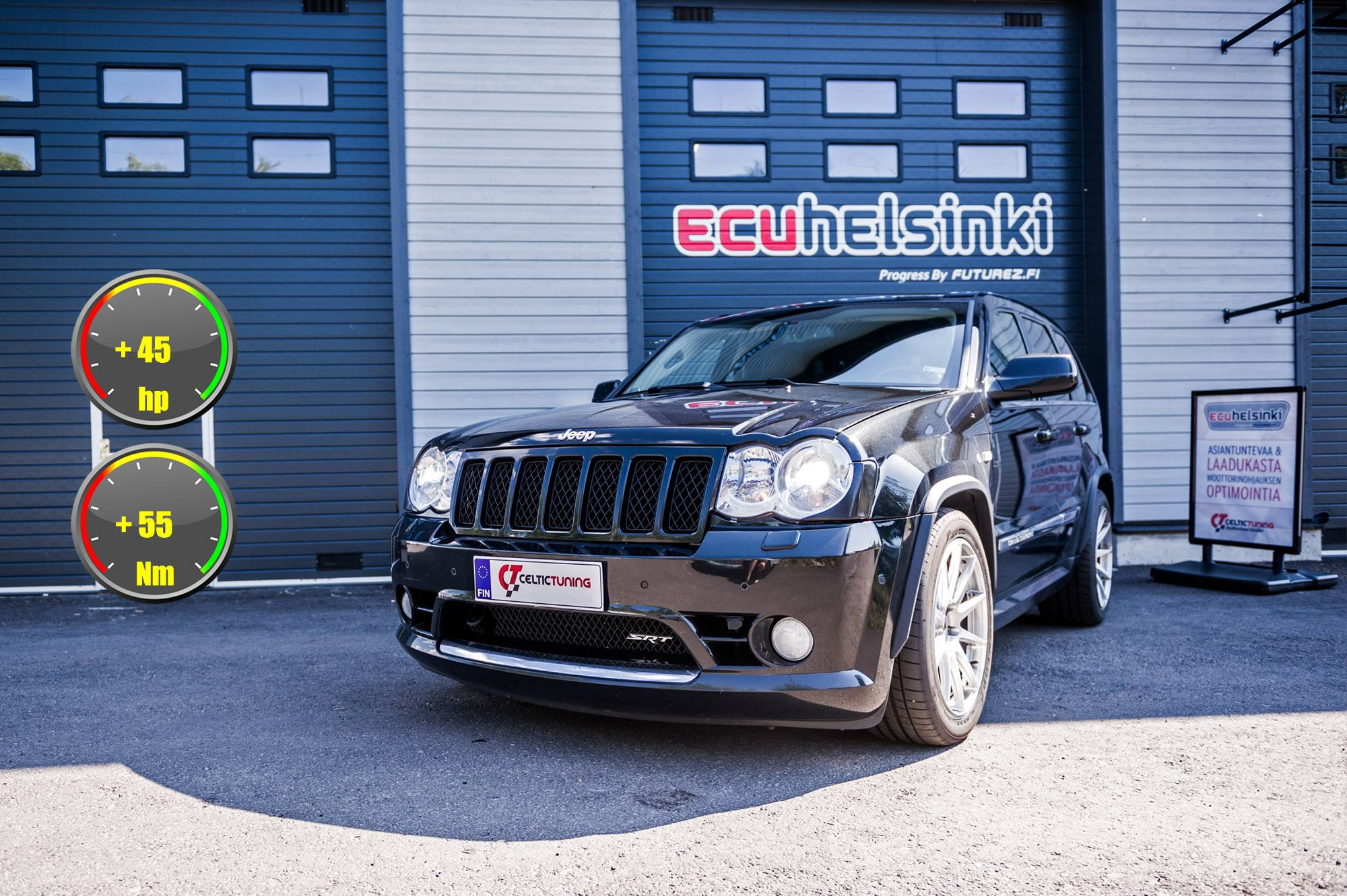Jeep celtic tuning lastutus